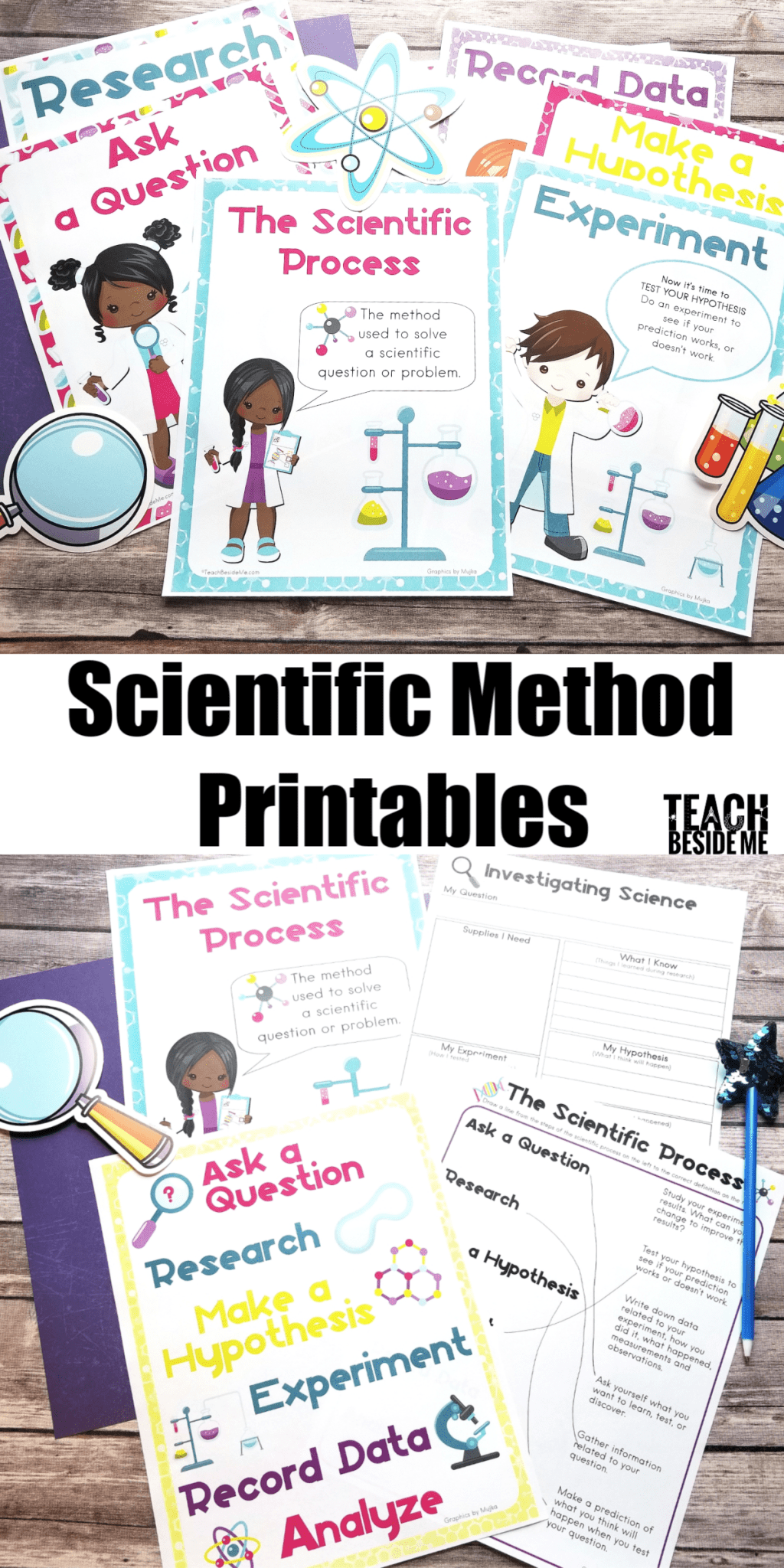Scientific Method Worksheets And Posters