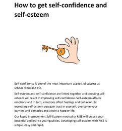 Self Esteem Worksheets Building Confidence And Self Esteem on Best  Worksheets Collection 6628 [ 1024 x 768 Pixel ]