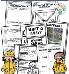 Rain And Water Cycle Activities And Worksheets   Tpt Science on Best  Worksheets Collection 163 [ 1104 x 736 Pixel ]