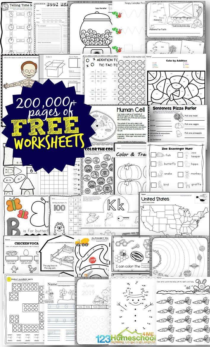 hight resolution of Free Worksheets - 200