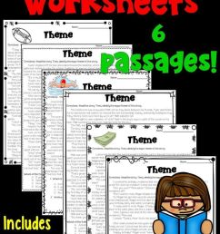 Themes In Literature Worksheets   School - English   Reading Lessons on  Best Worksheets Collection 6756 [ 1269 x 736 Pixel ]