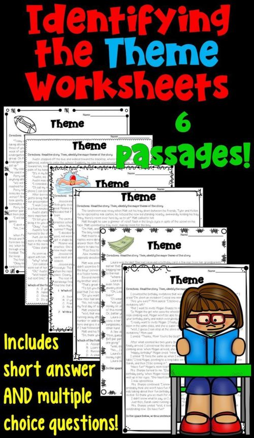 small resolution of Themes In Literature Worksheets   School - English   Reading Lessons on  Best Worksheets Collection 6756