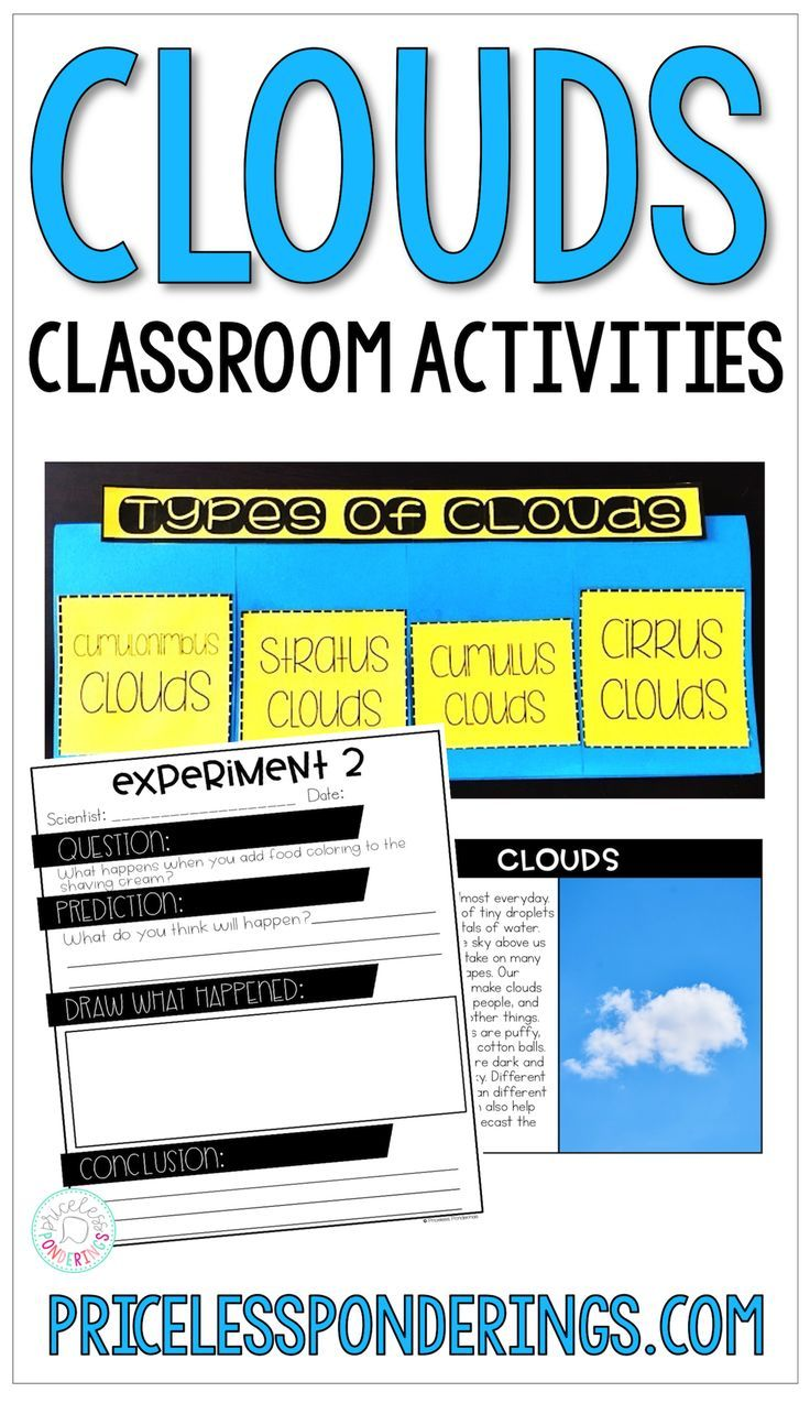 hight resolution of Types Of Clouds Activities And Worksheets   Second Grade on Best Worksheets  Collection 9527