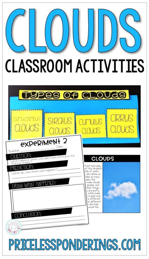 small resolution of Types Of Clouds Activities And Worksheets   Second Grade on Best Worksheets  Collection 9527