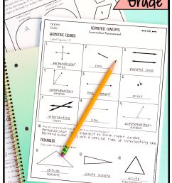 All 4th Grade Geometry Worksheets Or Tests 4g1 [ 9375 x 4594 Pixel ]