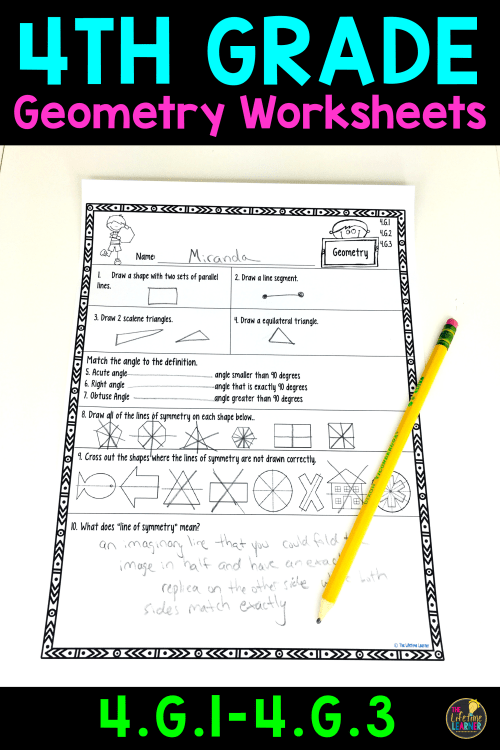 small resolution of 4th Grade Geometry Worksheets   Fourth Grade   Geometry on Best Worksheets  Collection 7059