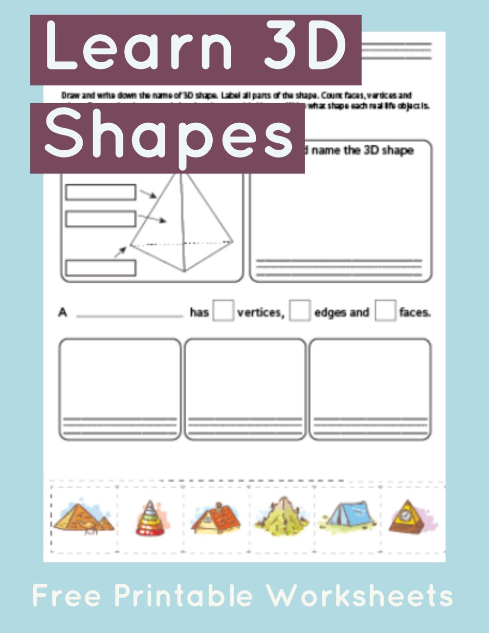 medium resolution of Pyramid Worksheet   Math Worksheets - Primarylearning on Best Worksheets  Collection 7535