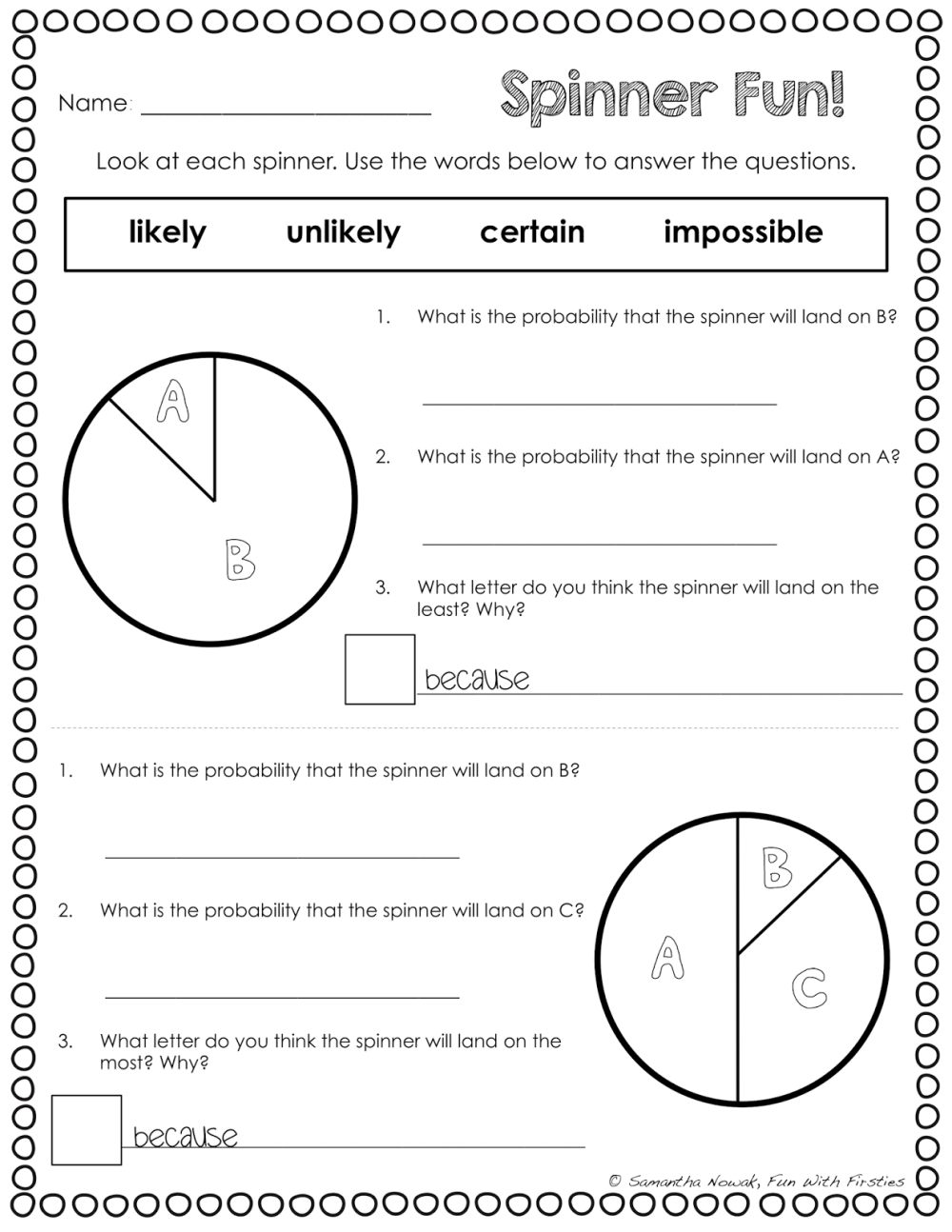 medium resolution of 12 Best Experimental Probability Worksheets 7th Grade images on Best  Worksheets Collection