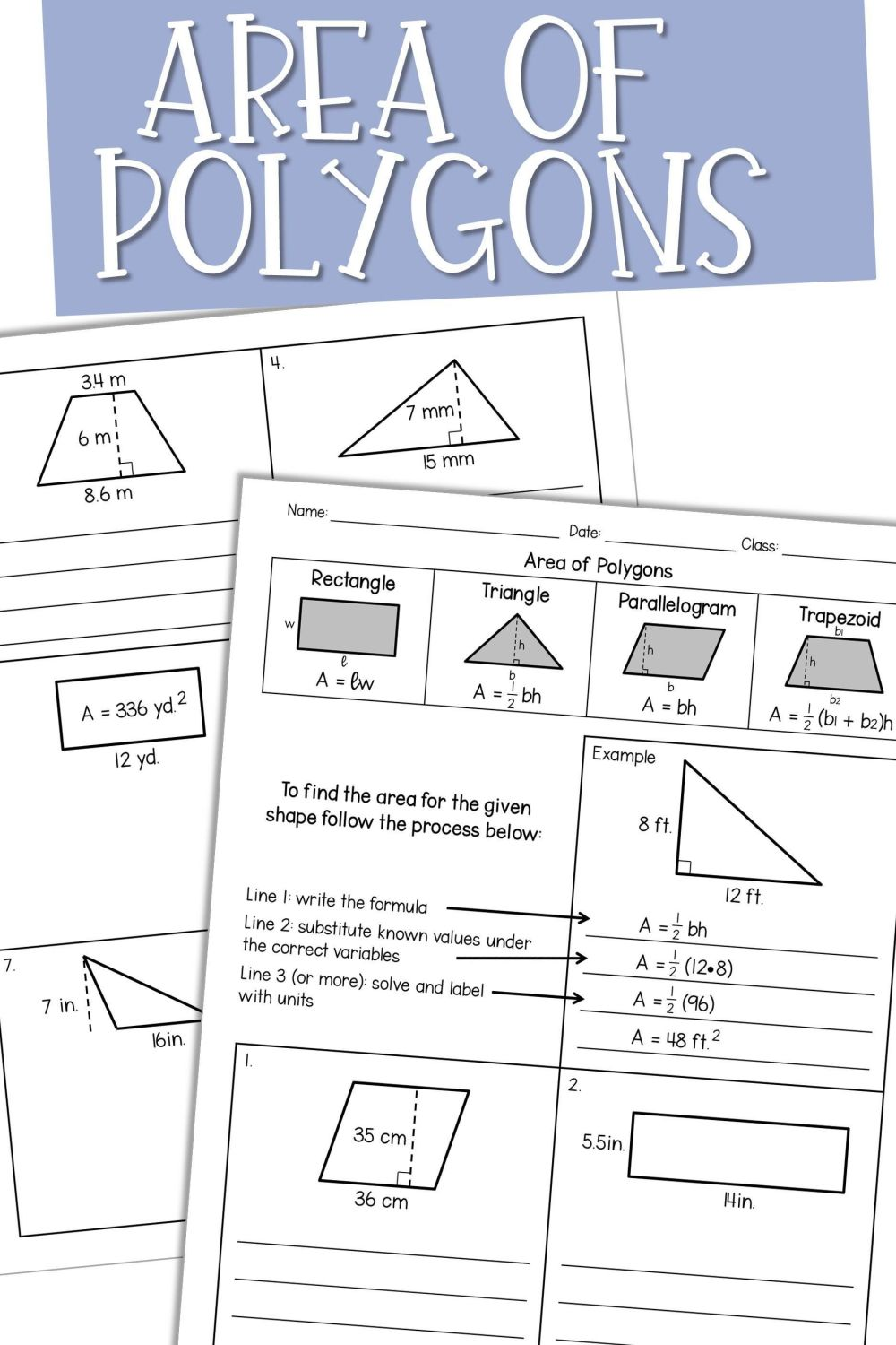 medium resolution of Color Polygons Worksheet   Printable Worksheets and Activities for  Teachers