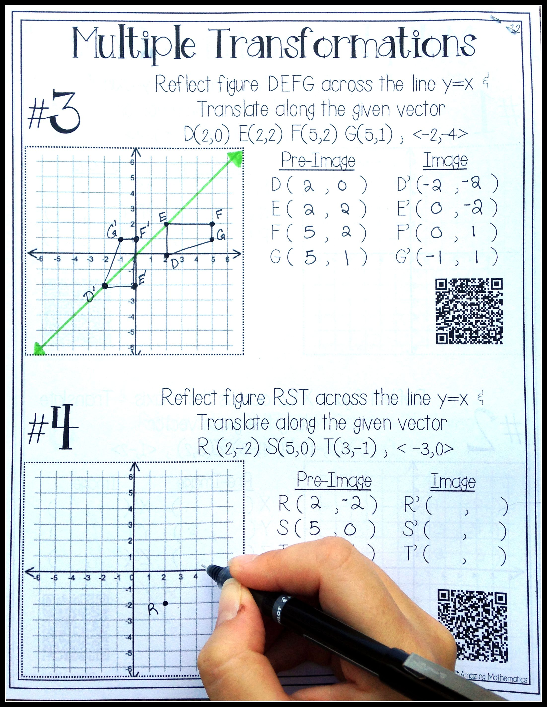 13 Best Middle School Geometry Worksheets Images On Best