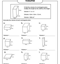 8 Best Volume Cubes Worksheets images on Best Worksheets Collection [ 1650 x 1275 Pixel ]