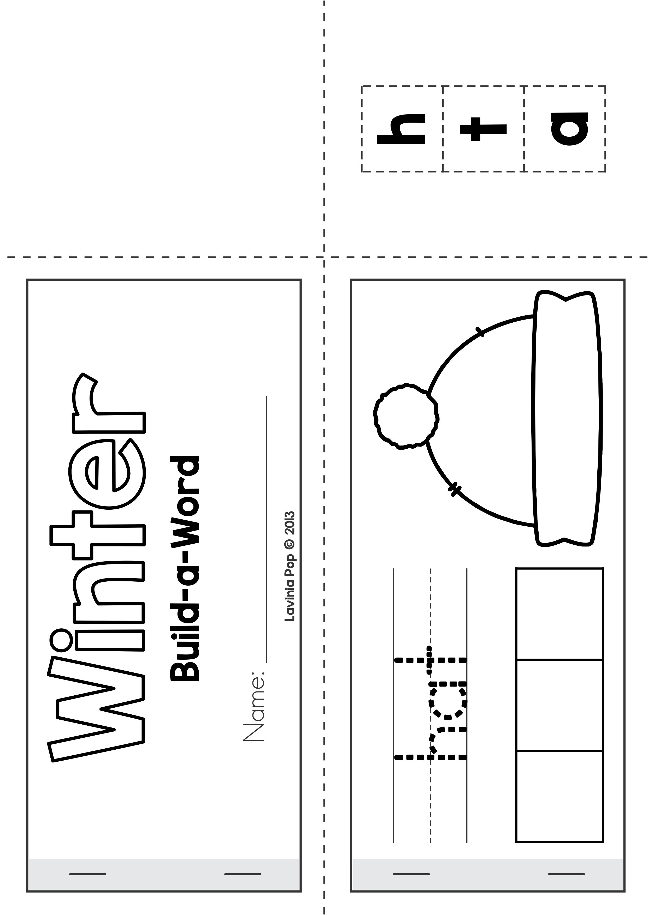 8 Best Winter Word Tracing Worksheets Images On Best