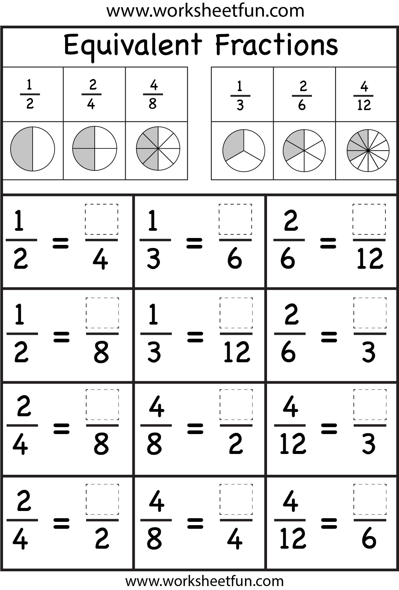 hight resolution of These Are The Best Math Worksheets For Grade 1 Through Grade 6 You on Best  Worksheets Collection 3430