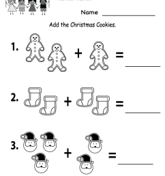 7 Best Christmas Worksheets images on Best Worksheets Collection [ 1035 x 800 Pixel ]