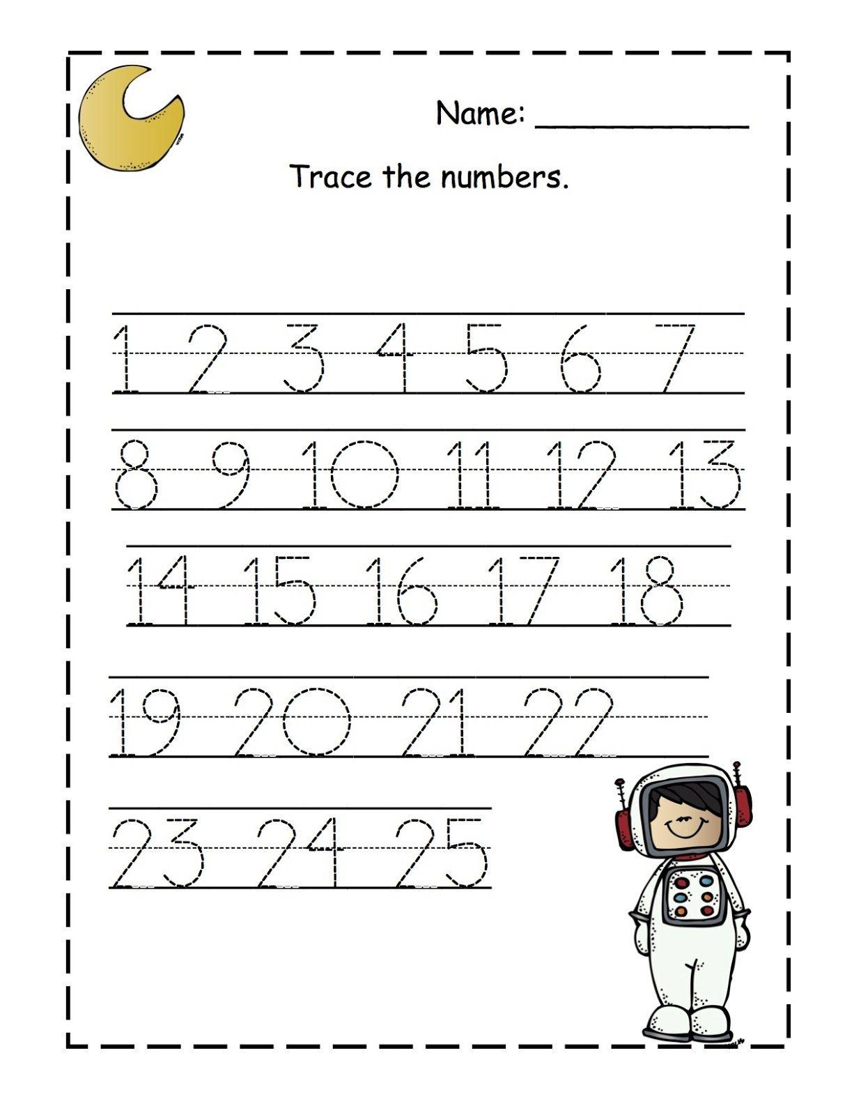 17 Best Printable Preschool Worksheets Number 3 Images On