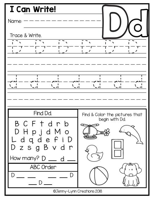small resolution of Kindergarten Abc Worksheets   Letter Worksheets   Abc on Best Worksheets  Collection 5735