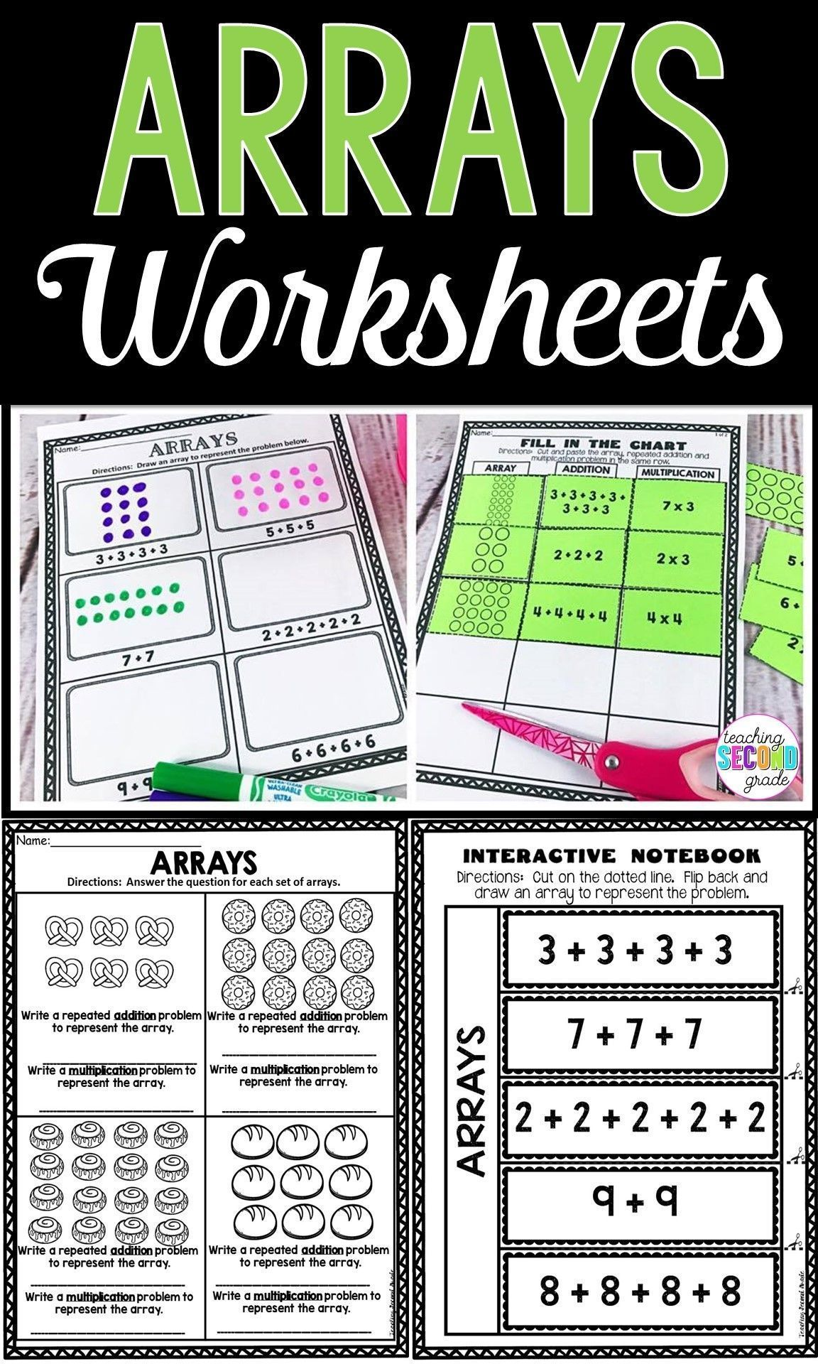 16 Best Array Worksheets Images On Best Worksheets Collection