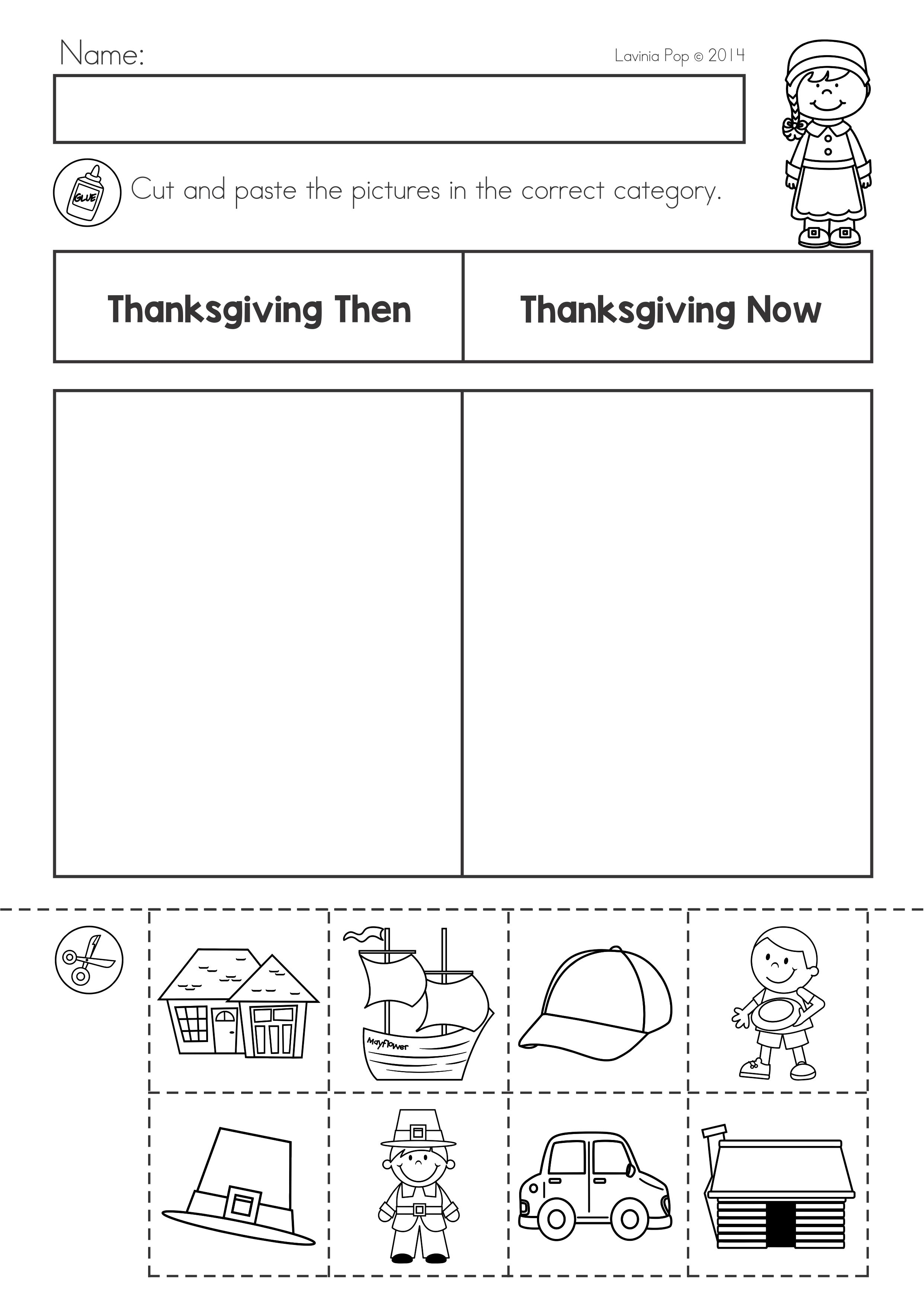Thanksgiving Math Amp Literacy Worksheets And Activities On