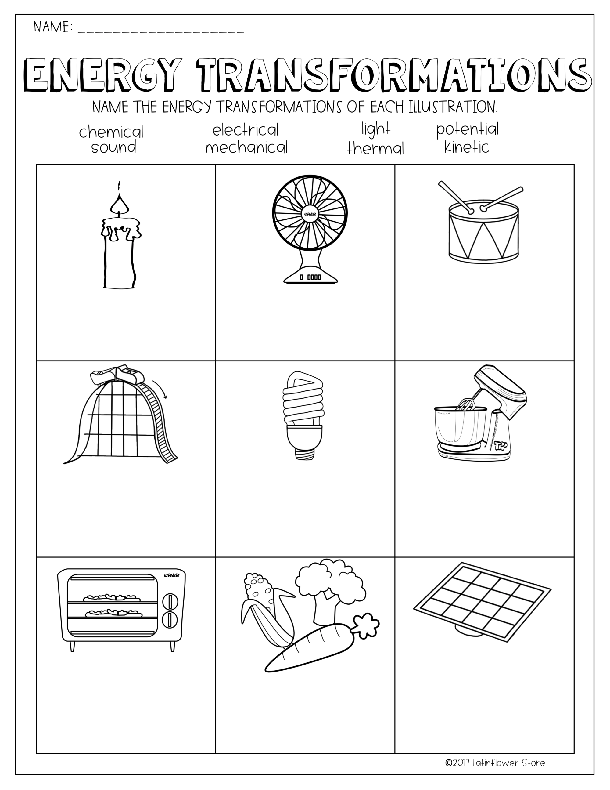 hight resolution of 12 Best Energy Worksheets 6th Grade Science images on Best Worksheets  Collection