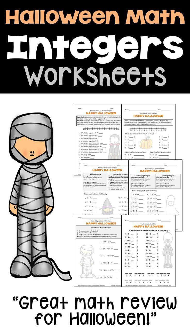 hight resolution of 8 Best 7th Grade Math Worksheets Integers Printable images on Best  Worksheets Collection