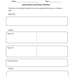 8 Best 6th Grade Essay Writing Worksheets images on Best Worksheets  Collection [ 1650 x 1275 Pixel ]