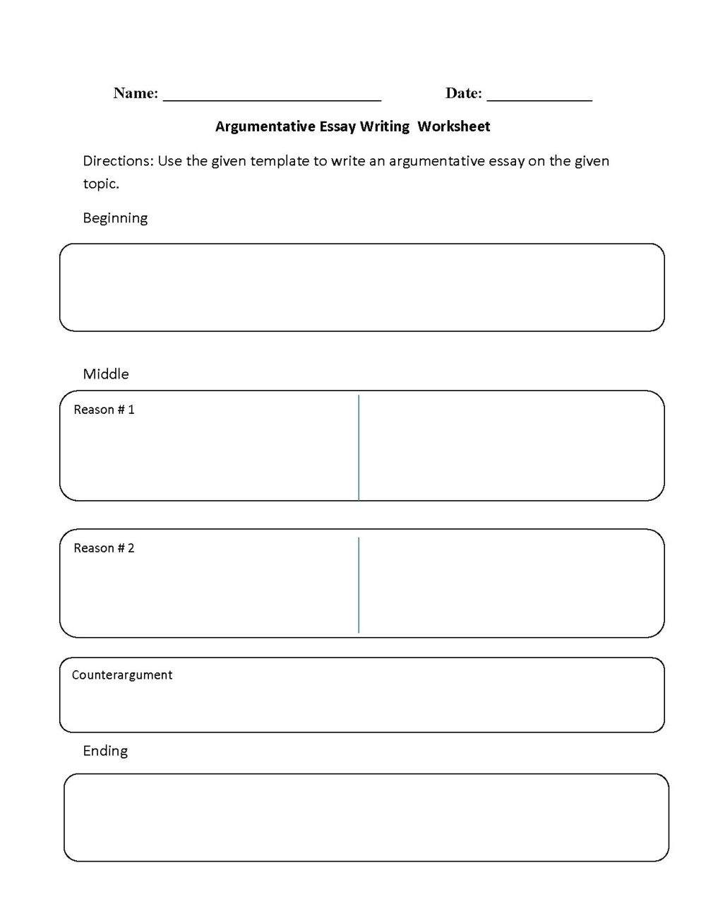 medium resolution of 8 Best 6th Grade Essay Writing Worksheets images on Best Worksheets  Collection