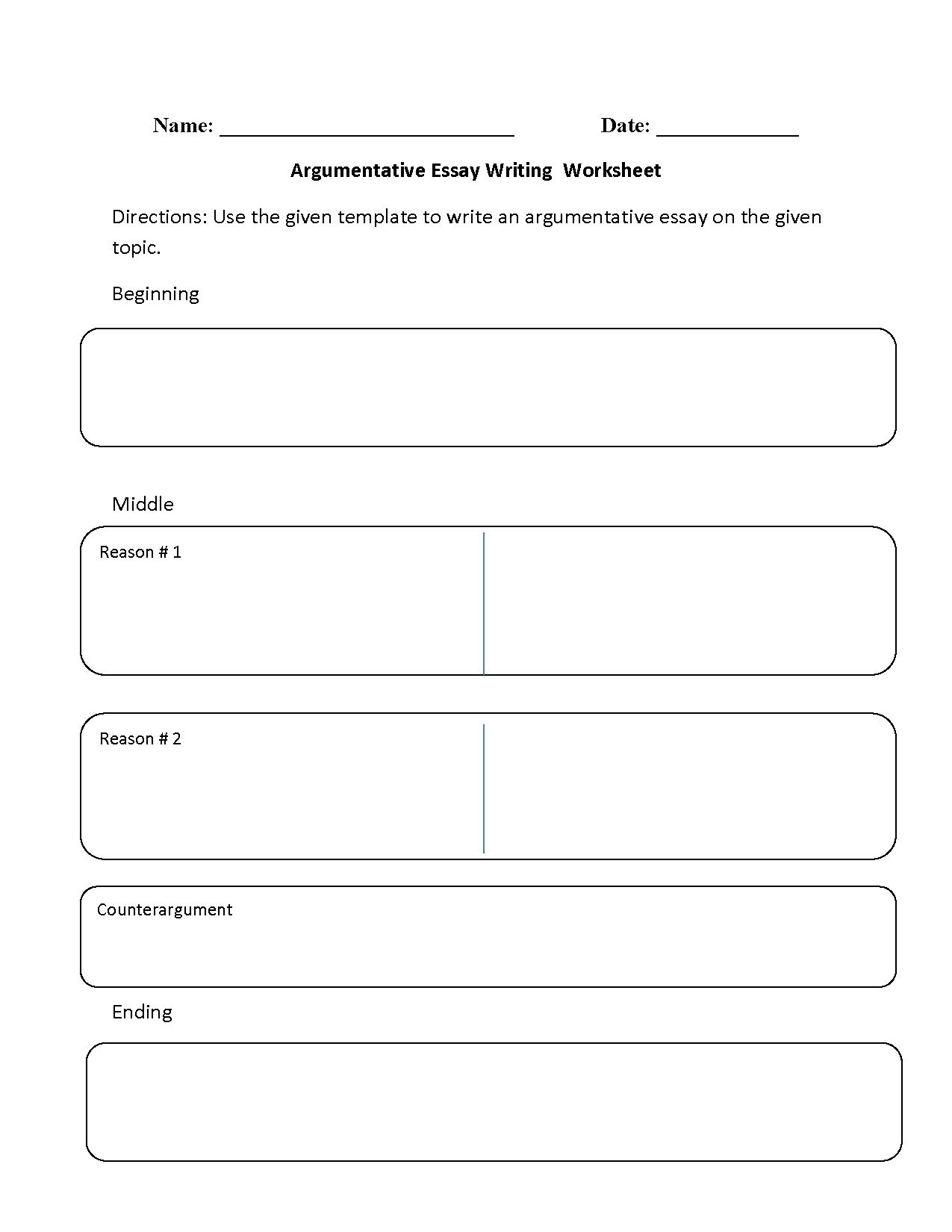hight resolution of 8 Best 6th Grade Essay Writing Worksheets images on Best Worksheets  Collection
