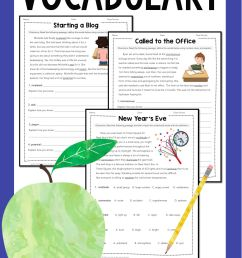 Vocabulary: Practice Using Context Clues Worksheets   Middle on Best  Worksheets Collection 211 [ 6600 x 3000 Pixel ]