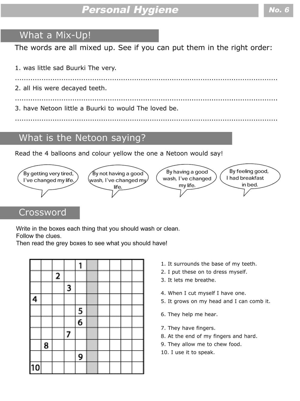 medium resolution of 17 Best 6th Grade Health Worksheets Printable images on Best Worksheets  Collection