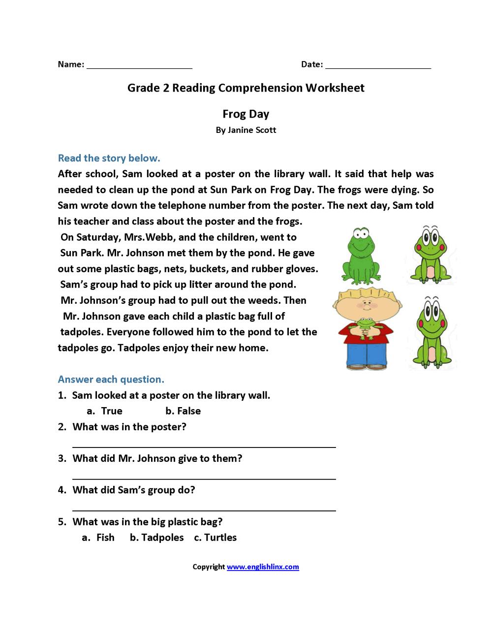 medium resolution of 11 Best Printable Comprehension Worksheets 6th Grade images on Best  Worksheets Collection