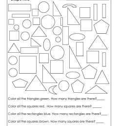 18 Best Rectangles Triangles Worksheets images on Best Worksheets Collection [ 2200 x 1700 Pixel ]