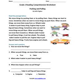 20 Best Easy 2nd Grade Reading Worksheets images on Best Worksheets  Collection [ 2200 x 1700 Pixel ]