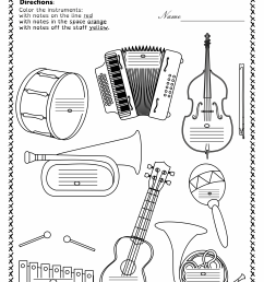 13 Best Musical Instruments Worksheets images on Best Worksheets Collection [ 3516 x 2478 Pixel ]