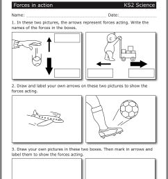 Forces Worksheet 4th Grade   Printable Worksheets and Activities for  Teachers [ 1822 x 1536 Pixel ]