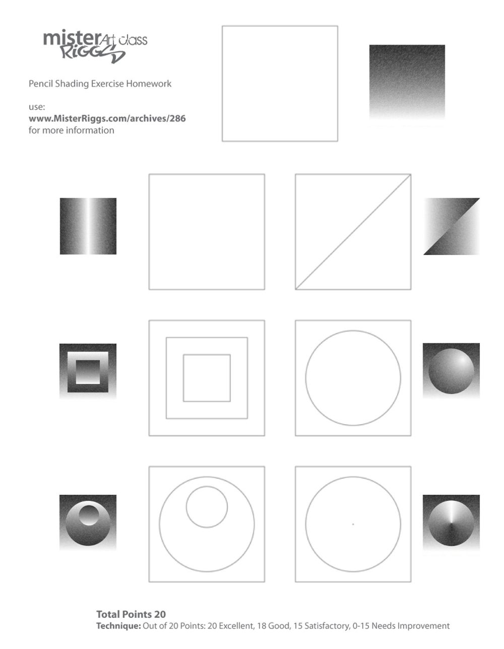 medium resolution of 9 Best Shading Art Worksheets images on Best Worksheets Collection