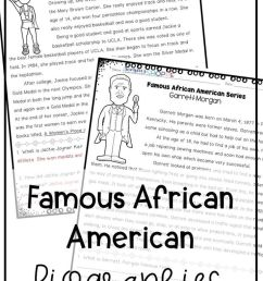 Black History Famous African Americans Nonfiction Reading Worksheets on  Best Worksheets Collection 1533 [ 1104 x 736 Pixel ]
