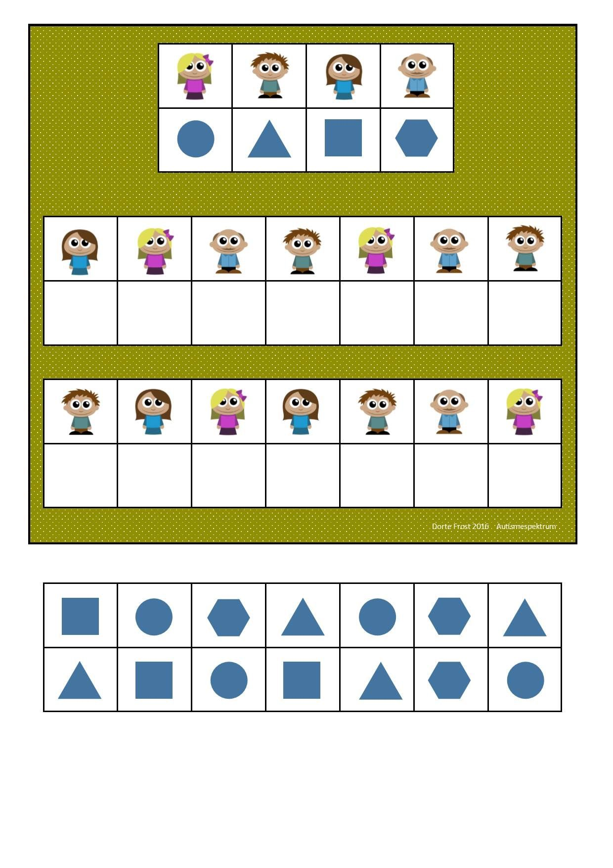 8 Best Printable Visual Perception Worksheets Images On