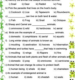 9 Best Animal Habitats Worksheets images on Best Worksheets Collection [ 3508 x 2480 Pixel ]