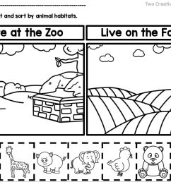 9 Best Animal Habitats Worksheets images on Best Worksheets Collection [ 1172 x 1562 Pixel ]