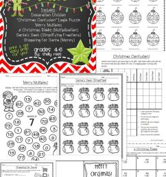 21 Best Christmas Math Worksheets 4th Grade images on Best Worksheets  Collection [ 1226 x 736 Pixel ]