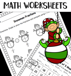21 Best Christmas Math Worksheets 4th Grade images on Best Worksheets  Collection [ 1675 x 718 Pixel ]