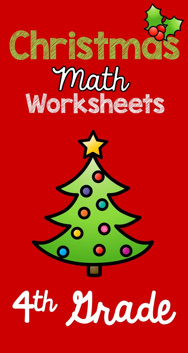hight resolution of 21 Best Christmas Math Worksheets 4th Grade images on Best Worksheets  Collection