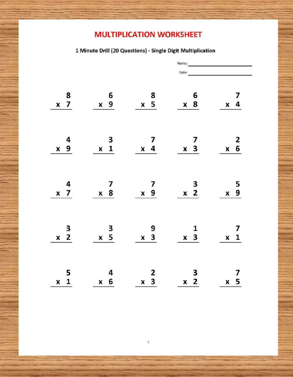 medium resolution of 16 Best Multiplication Worksheets 2s And 3s images on Best Worksheets  Collection