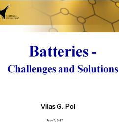 nanohub org resources batteries challenges and solutions watch presentation [ 1024 x 768 Pixel ]