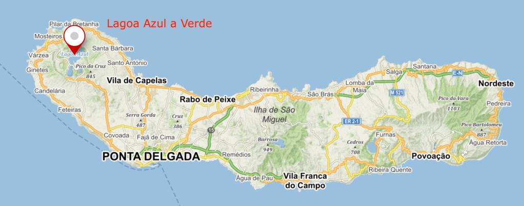 6 míst, kam se vydat při dovolené na Azorách - Lagoa Azul a Verde