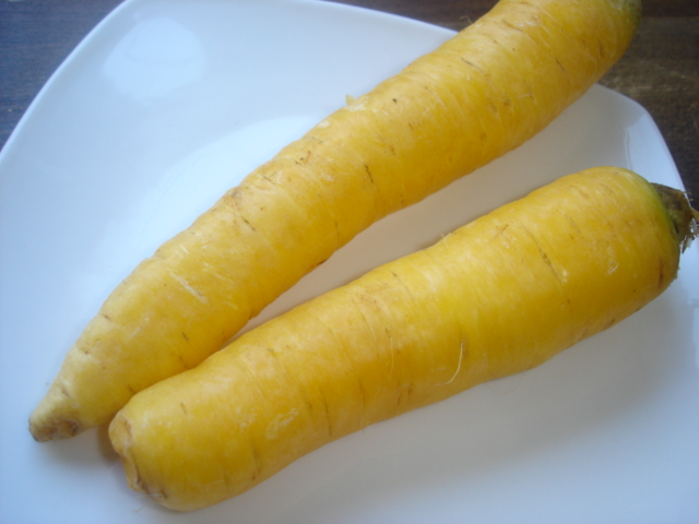 Yellow carotts