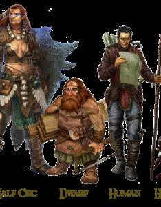 The four main races of zatra also creating an rpg campaign bible  part episode nanook rh nanookofthenerd wordpress