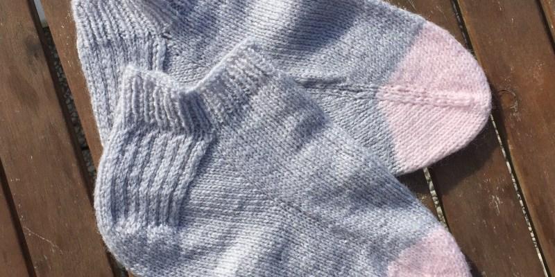 Le jour ou j'ai décidé de tricoter des Chaussettes