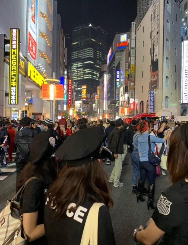 渋谷ハロウィンナンパ2019