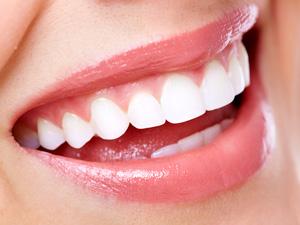真っ白い歯